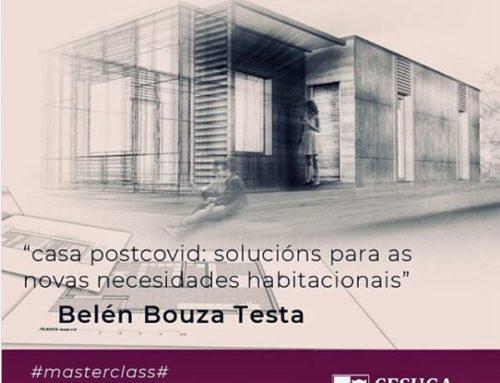 Masterclass en CESUGA: CasaPosCovid y construcción con madera en Galicia